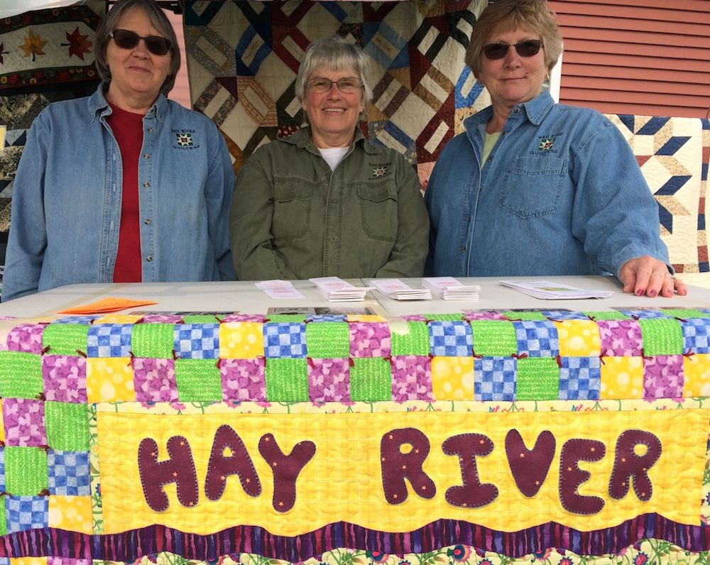 Hay River Quilts present 22nd annual show and raffle