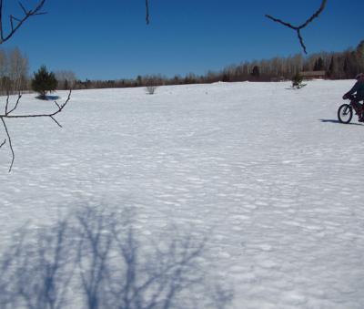 crunchy snow