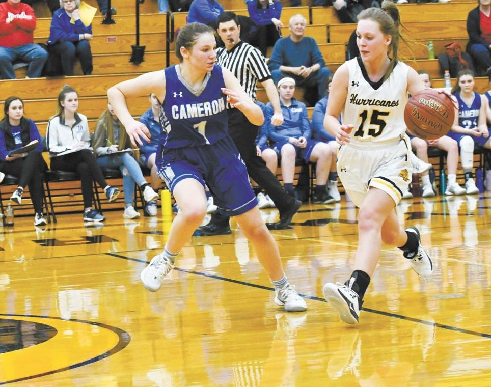 Canes girls hoops sustains three losses