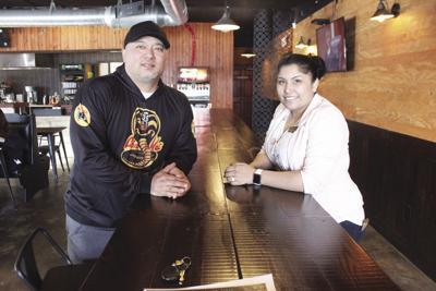 Northwoods Burgers & Fries couple
