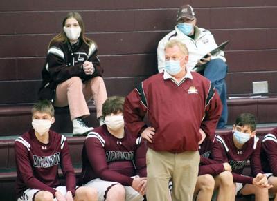 Birchwood boys basketball coach Blane Senn