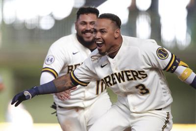 APTOPIX Twins Brewers Baseball