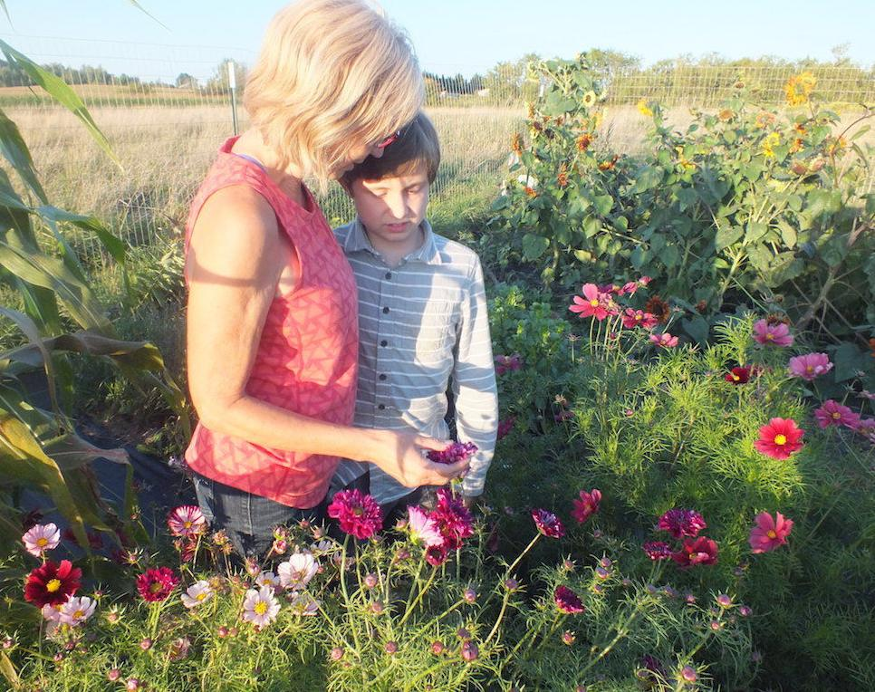 Seed Song Flowers are in tune with nature