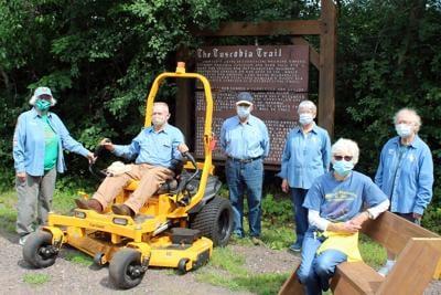 Tuscobia Trail lawnmower donation