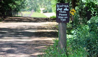 Cattail Trail open