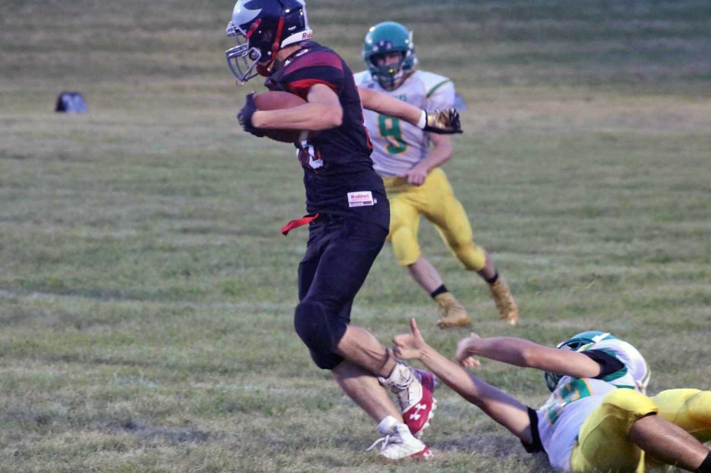 Winter/Birchwood football vs. Prairie Farm 9-9-21
