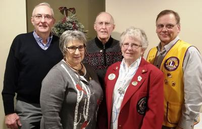 Lions Club honors service
