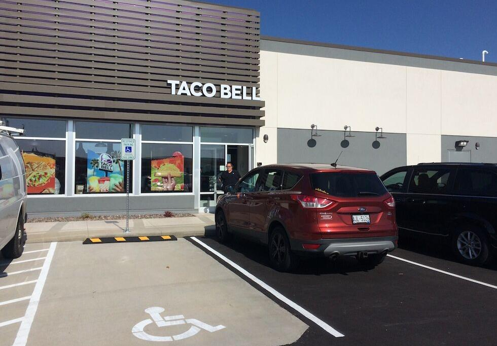 Taco Bell opening Oct. 16