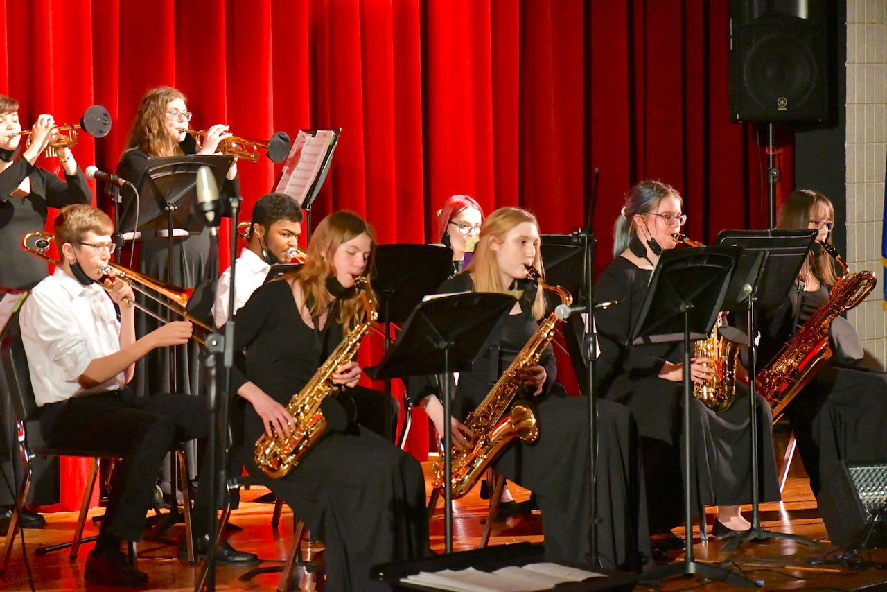 HHS Jazz Band concert