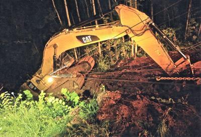 Excavator extraction