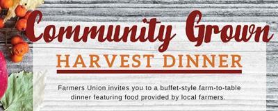 Pre-order tickets for Community Grown Harvest Dinner