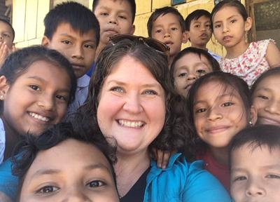 Finding her passion in Peru
