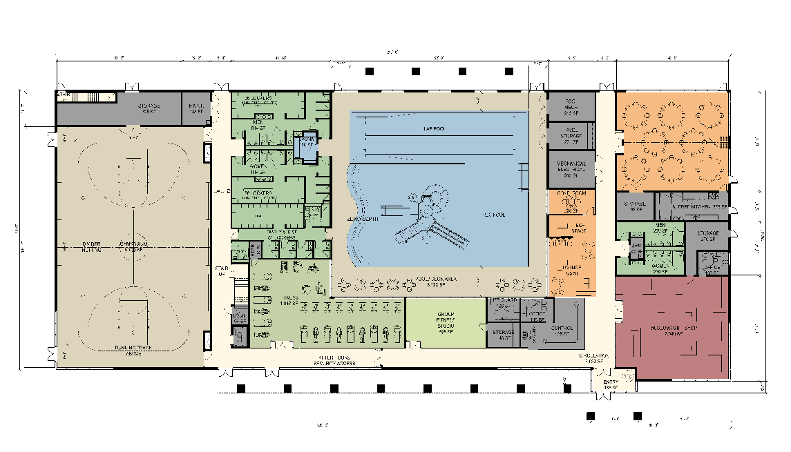 Aquatic center business plan