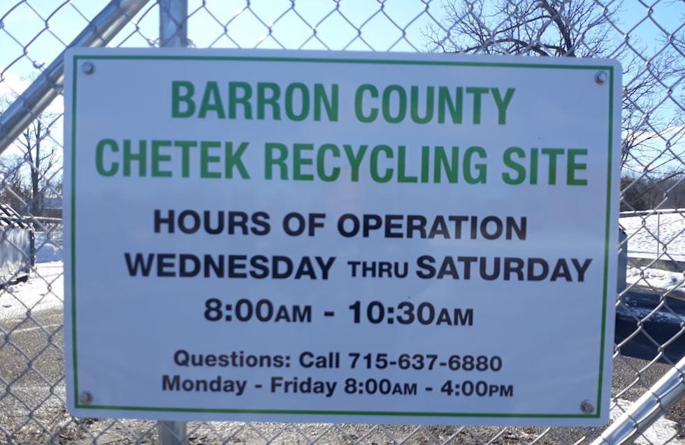 County begins manned recycling program
