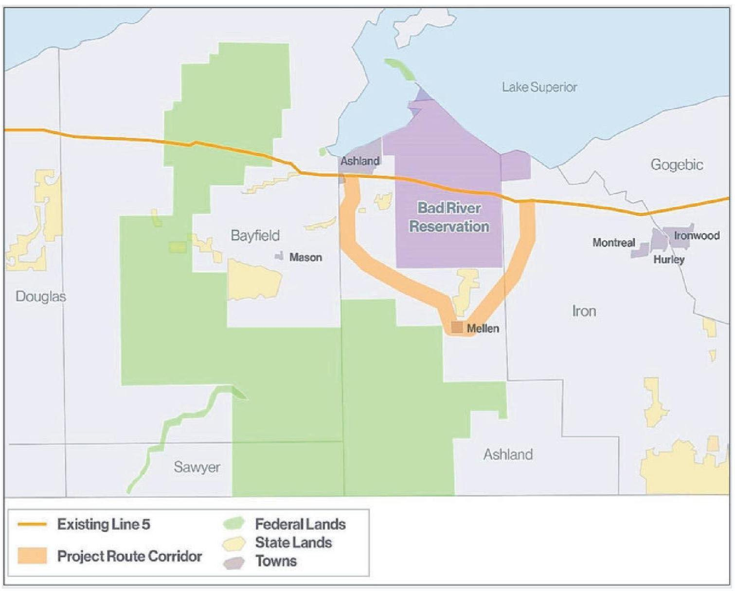 Residents: Line 5 threatens all of Northland