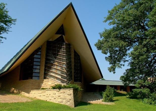 Lawmakers ok highway 39 trail 39 highlighting frank lloyd - Frank lloyd wright structures ...