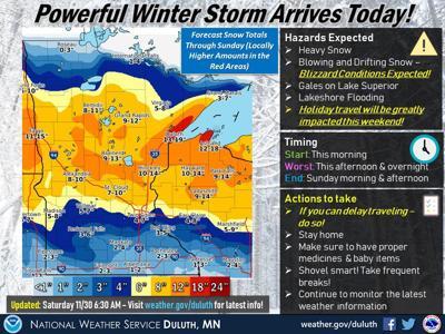 Weather for November 30-December 1
