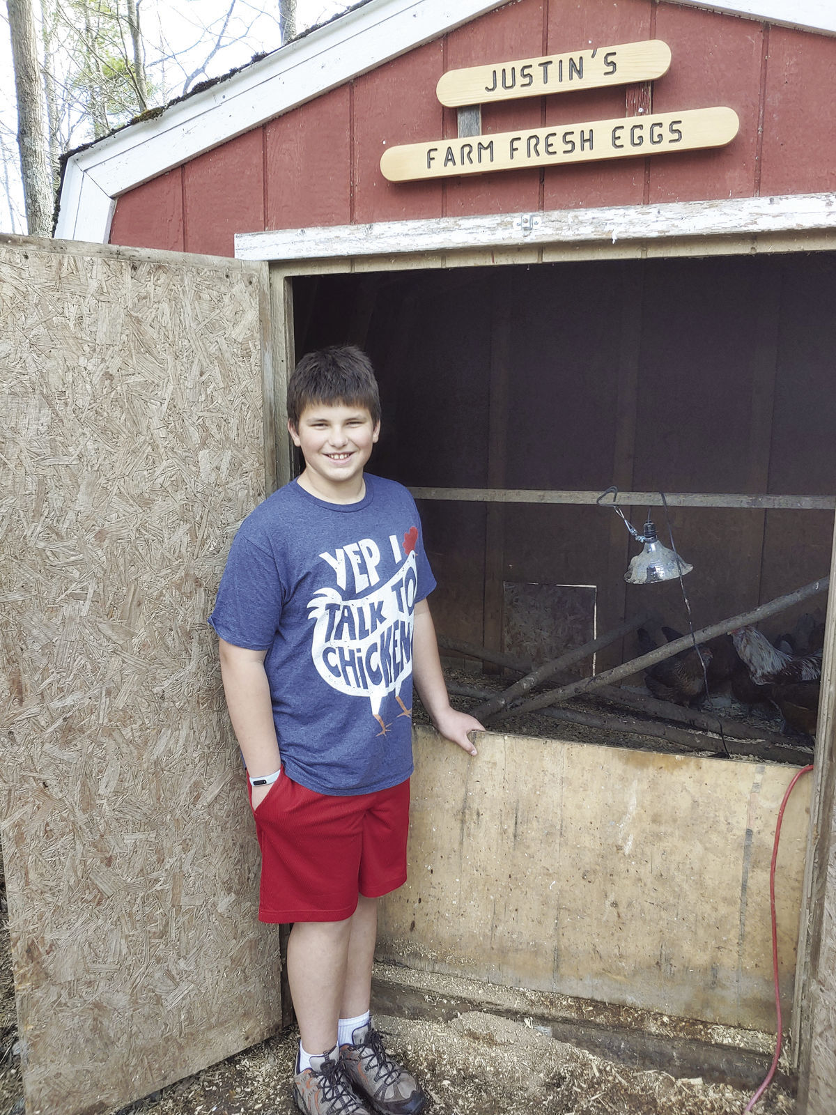 Hayward student raises chickens to raise funds