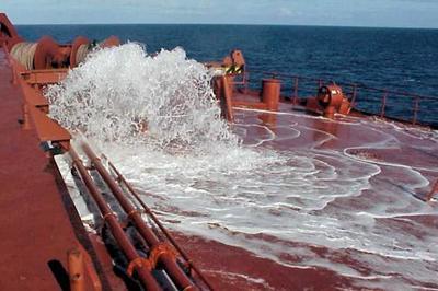 Ballast water, ship