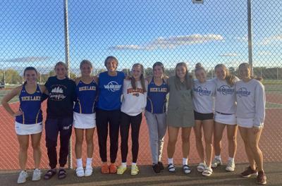 Rice Lake girls tennis team