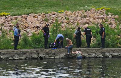 Man pulled from water