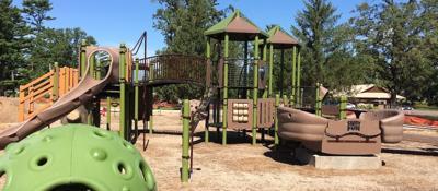 New playground dedication set