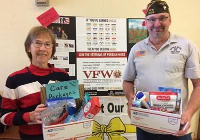 Care packages for those in military