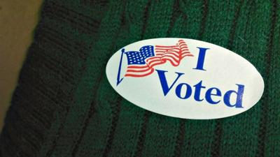 I voted, fall election