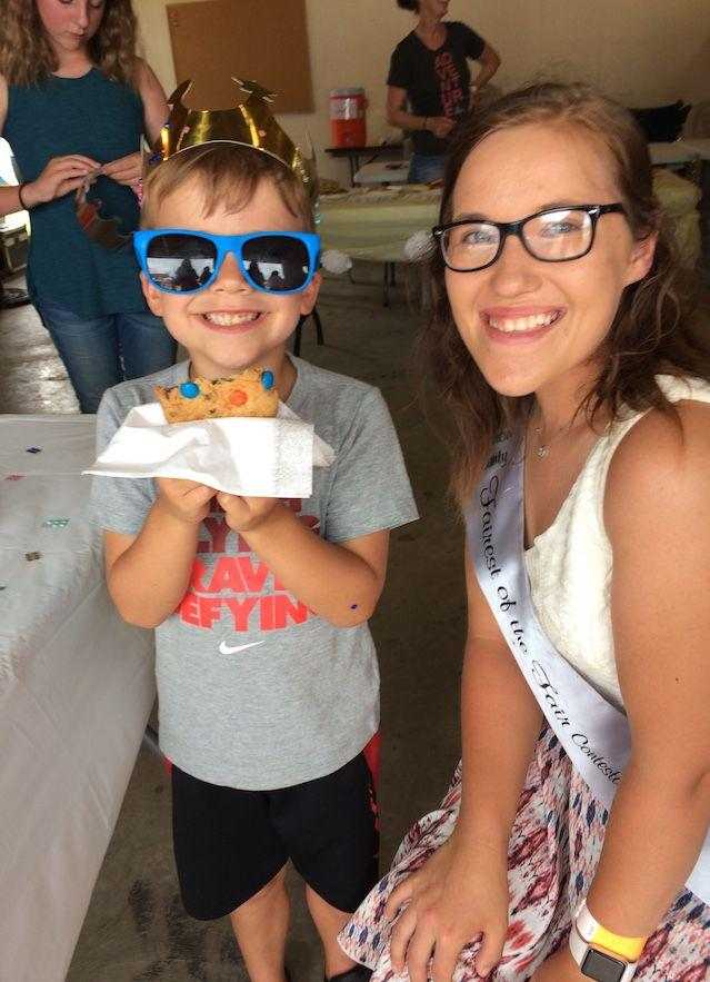 Future kings and queens attend Cookies & Crowns