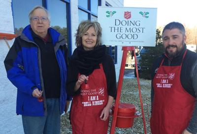 Have kettles, bells; need Salvation Army ringers