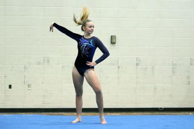 Rice Lake gymnastics vs. Hudson 1-12-21