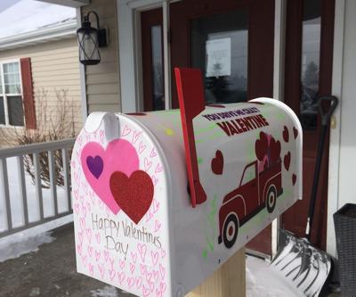 Have mailboxes, seeking Valentine greetings