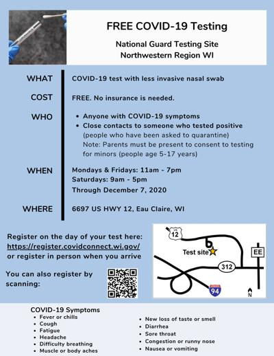 NW WI National Guard Testing