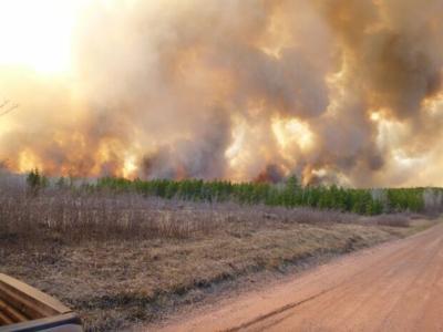 Germann Road fire