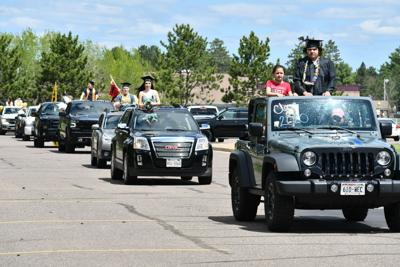 HHS seniors honored with parade