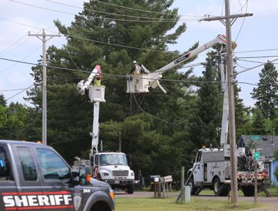Power line issues repaired