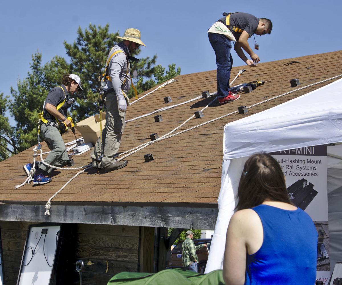 Fair, solar installation