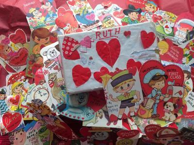 Writers block: vintage valentines: ties that bind