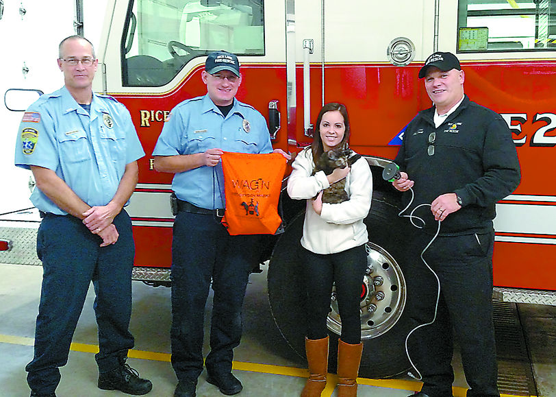 New gear helps fire crews save pets news apg for Rice pump and motor