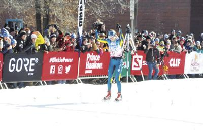 Last year's women skate ski Birkie winner