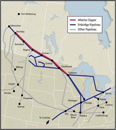 Enbridge Energy Pipeline Through Wisconsin Topic Of May 14 Forum In