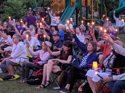 Lights for Liberty: A Vigil to End Human Concentration Camps