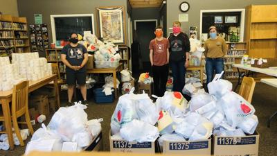 Care packages for Community First Washburn County