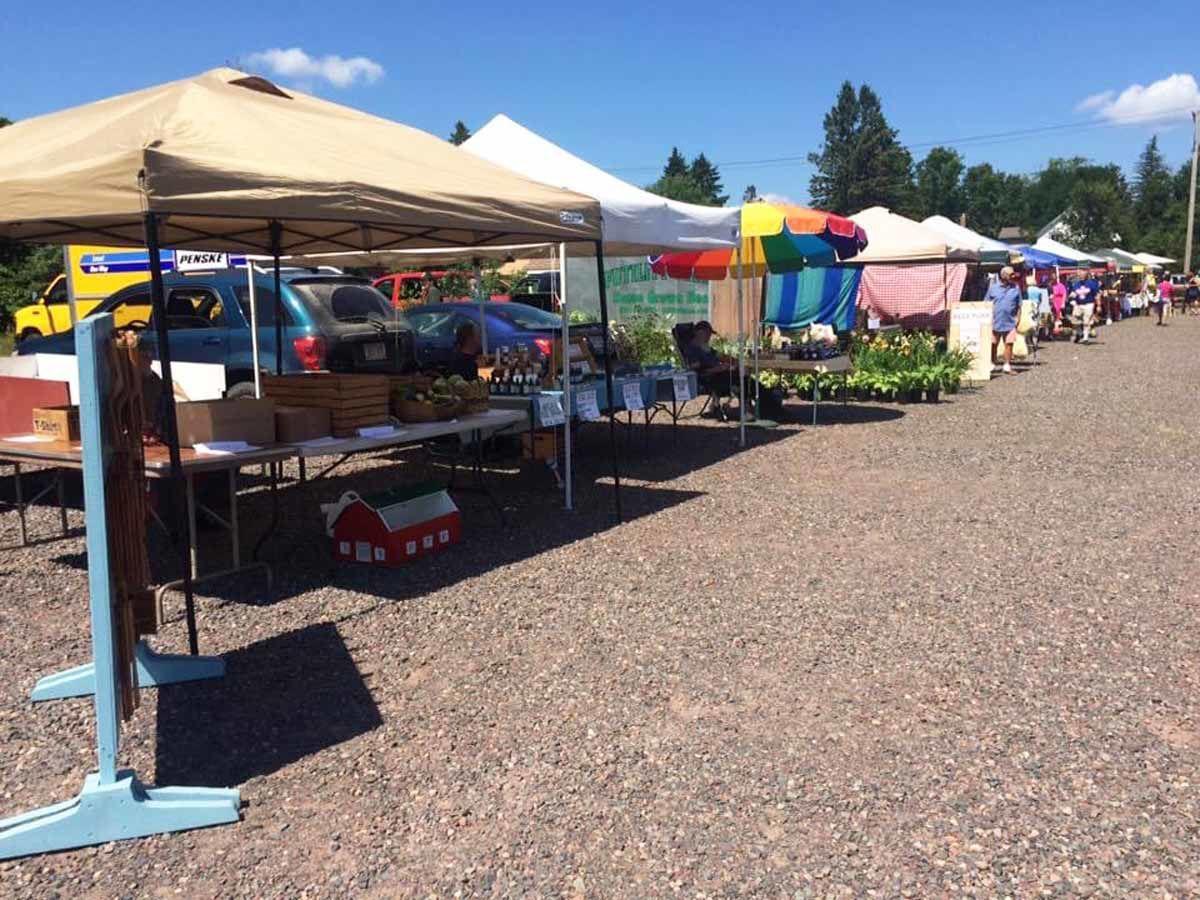 Farmers market moves to Lumberjack Bowl