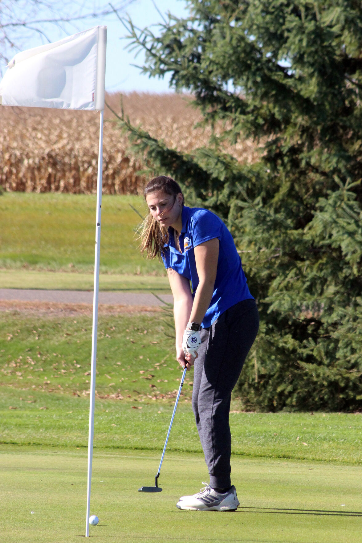 Division 2 girls golf sectional at Rice Lake 10-7-20