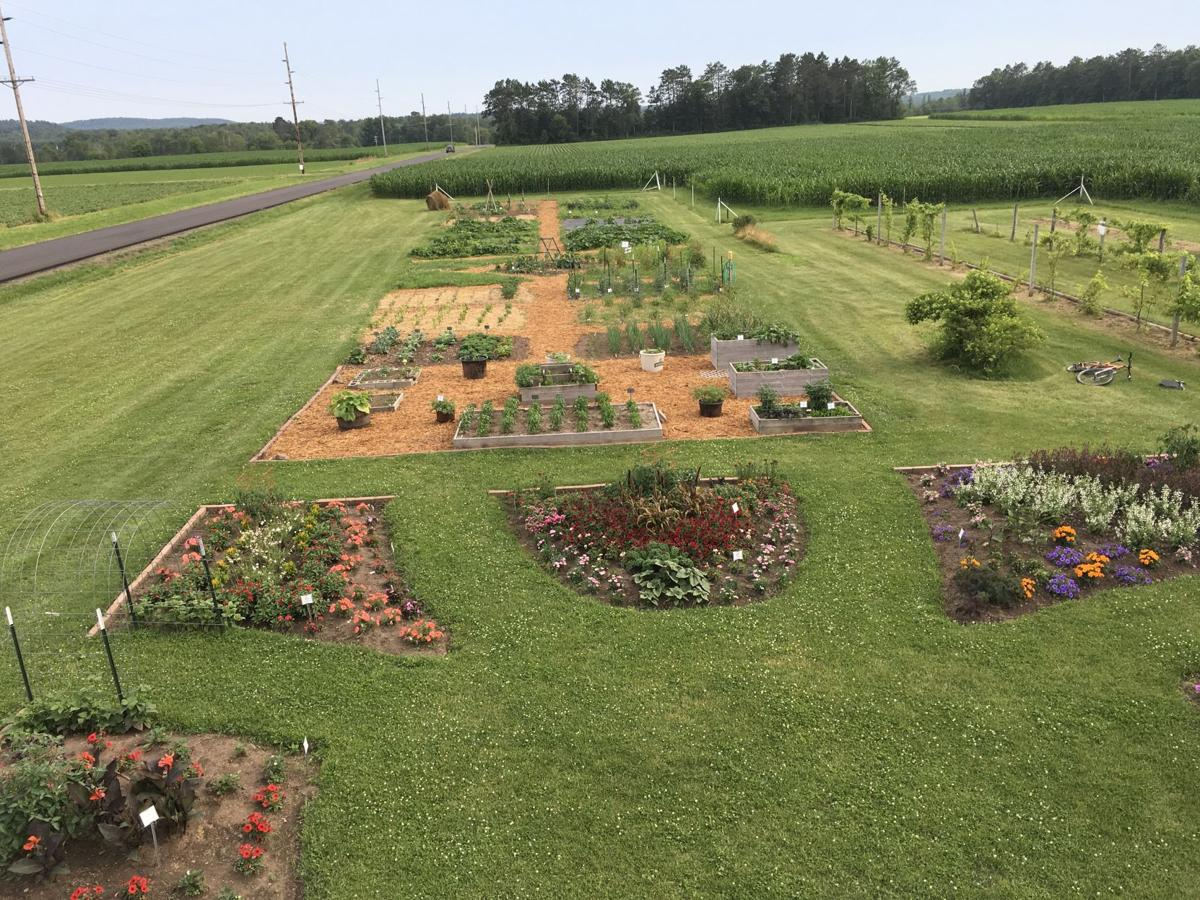 spooner ag research station garden wins national award free
