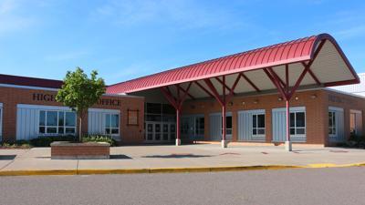 Spooner High School building