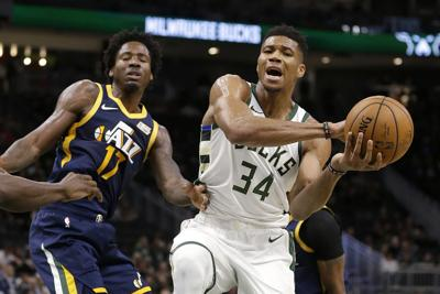 Jazz Bucks Basketball