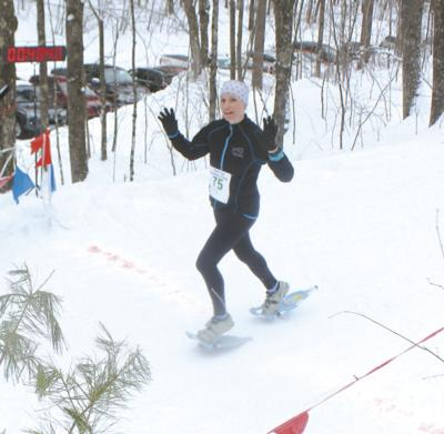 First timers win 6K men's, women's North  End Snowshoe Classic race