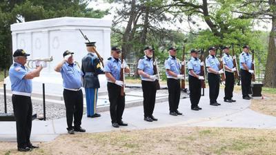 Memorial Day salute, veterans